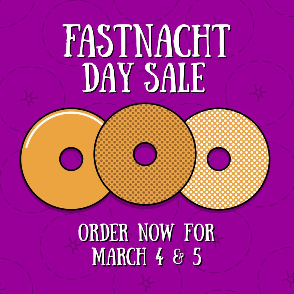 Fastnacht Day Sale